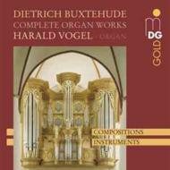 【送料無料】 Buxtehude ブクステフーデ / オルガン作品全集 H.フォーゲル(org) 輸入盤 【CD】
