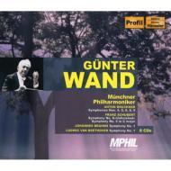 【送料無料】 Bruckner ブルックナー / ブルックナー:交響曲第4・5・6・8・9番、他 ヴァント&ミュンヘン・フィル(8CD) 輸入盤 【CD】