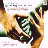 Bach, Johann Sebastian バッハ / ゴルトベルク変奏曲(ラインベルガー&レーガー編2台ピアノ版) タール&グロートホイゼン 輸入盤 【CD】