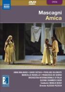 送料無料 Mascagni マスカーニ 数量は多 アミーカ 全曲 ピツェッシュ演出 M.ベンツィ イタリア国際管 マラヴァージ DVD 品質保証 他 ステレオ ソトジュ 2007
