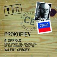 【送料無料】 Prokofiev プロコフィエフ / 6つのオペラ全曲(戦争と平和、3つのオレンジへの恋、炎の天使、修道院での結婚、セミョーン・コトコ、賭博者) ゲルギエフ&キーロフ歌劇場(14CD) 輸入盤 【CD】