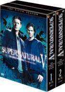 【送料無料】 SUPERNATURAL V スーパーナチュラル <フィフス・シーズン> コンプリート・ボックス 【DVD】