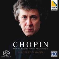 【送料無料】 Chopin ショパン / バラード全集、舟歌、幻想曲、幻想ポロネーズ エデルマン(ダイレクト・カットSACD) 【SACD】