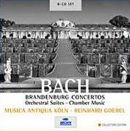 送料無料 Bach 人気激安 Johann Sebastian バッハ ブランデンブルク協奏曲全曲 管弦楽組曲全曲 (人気激安) MAK CD ほか 8CD 輸入盤 ゲーベル