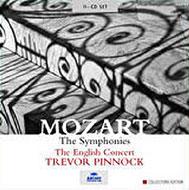 【送料無料】 Mozart モーツァルト / 交響曲全集(48曲) ピノック&イングリッシュ・コンサート(11CD) 輸入盤 【CD】