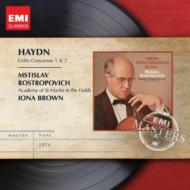 Haydn ハイドン チェロ協奏曲第1番 第2番 輸入盤 ロストロポーヴィチ アカデミー室内管弦楽団 セール品 超安い CD