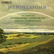【送料無料】【CD】 Mendelssohn メンデルスゾーン/ Mendelssohn 交響曲全集、弦楽のための交響曲全集、協奏曲全集 輸入盤 リットン&ベルゲン・フィル、マルキス&アムステルダム・シンフォニエッタ、クーレン、ブラウティハム、他(11CD) 輸入盤【CD】, お買い得アクセサリーMOAR:b9b40fa9 --- alecrim.art.br