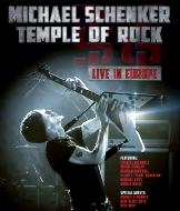 【送料無料】 Michael Schenker マイケルシェンカー / Temple Of Rock: Live In Europe 【BLU-RAY DISC】