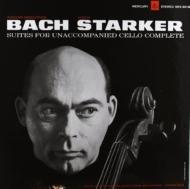 【送料無料】 Bach, Johann Sebastian バッハ / 無伴奏チェロ組曲全曲 シュタルケル (1963, 1965) (3枚組 / 180グラム重量盤レコード) 【LP】