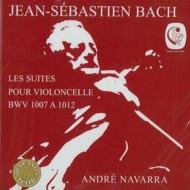 【送料無料】 Bach, Johann Sebastian バッハ / 無伴奏チェロ組曲全曲 ナヴァラ(2CD) 輸入盤 【CD】