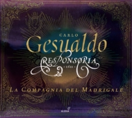 送料無料 Gesualdo ジェズアルド 聖週間のためのレスポンソリウム集 ラ コンパーニャ CD 使い勝手の良い 即納最大半額 輸入盤 マドリガーレ 3CD デル