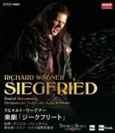 【送料無料】 Wagner ワーグナー / 『ジークフリート』全曲 カシアス演出、バレンボイム&スカラ座、L.ライアン、シュテンメ、他(2012 ステレオ)(2BD) 【BLU-RAY DISC】