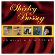 通販 激安◆ 送料無料 Shirley Bassey メーカー直売 シャーリーバッシー 5cd Original CD Set 輸入盤 Series Box Album