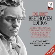 【送料無料】 Beethoven ベートーヴェン / ピアノ・ソナタ全集、ピアノ協奏曲全集、ピアノ版交響曲全集 ビレット、ヴィット&ビルケント響(19CD) 輸入盤 【CD】