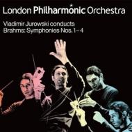 【送料無料】 Brahms ブラームス / 交響曲全集 ユロフスキー&ロンドン・フィル(4LP) 【LP】