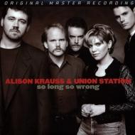 【送料無料】 Alison Krauss アリソンクラウス / So Long So Wrong (高音質盤 / 2枚組 / 180グラム重量盤レコード / Mobile Fidelity) 【LP】