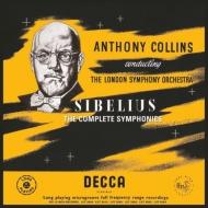 【送料無料】 Sibelius シベリウス / 交響曲全集 アンソニー・コリンズ&ロンドン交響楽団(6枚組 / 180グラム重量盤レコード) 【LP】