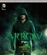 【送料無料】 ARROW / アロー <サード・シーズン> コンプリート・ボックス(4枚組) 【BLU-RAY DISC】