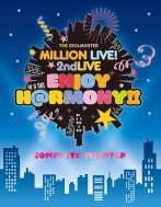 "【送料無料】 アイドルマスター / THE IDOLM@STER MILLION LIVE! 2ndLIVE ENJOY H@RMONY!! LIVE Blu-ray ""COMPLETE THE@TER"" 【完全生産限定】 【BLU-RAY DISC】"