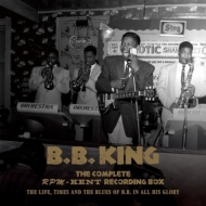 【送料無料】 B.B. King ビービーキング / Complete Rpm / Kent Recording Box 1950-1965: The Life, Times And The Blues Of B.b. In All His Glory: (日暮泰文監修) (+lp)(+book) 【CD】