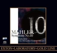 【送料無料】 Mahler マーラー / 交響曲第10番(クック版)全曲 インバル&東京都交響楽団(2014)(ワンポイント・ヴァージョン)(ダイレクト・カットSACD) 【SACD】