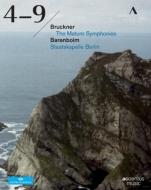 【送料無料】 Bruckner ブルックナー / 交響曲第4番、第5番、第6番、第7番、第8番、第9番 バレンボイム&シュターツカペレ・ベルリン(2010)(6BD) 【BLU-RAY DISC】