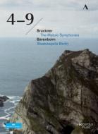 【送料無料】 Bruckner ブルックナー / 交響曲第4番、第5番、第6番、第7番、第8番、第9番 バレンボイム&シュターツカペレ・ベルリン(2010)(6DVD) 【DVD】