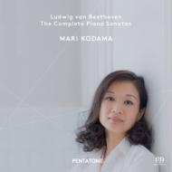 【送料無料】 Beethoven ベートーヴェン / Comp.piano Sonatas: 児玉麻里  【SACD】