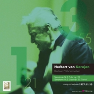 【送料無料】 Beethoven ベートーヴェン / 交響曲第1番、第3番「英雄」:ヘルベルト・フォン・カラヤン指揮&ベルリン・フィルハーモニー管弦楽団(1977 東京) (2枚組 / 180グラム重量盤レコード / TOKYO FM) 【LP】