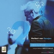 【送料無料】 Beethoven ベートーヴェン / 交響曲第2番、第8番:ヘルベルト・フォン・カラヤン指揮&ベルリン・フィルハーモニー管弦楽団(1977 東京) (2枚組 / 180グラム重量盤レコード / TOKYO FM) 【LP】