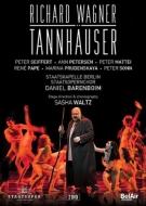 Wagner ワーグナー タンホイザー 全曲 サシャ ヴァルツ演出 バレンボイム シュターツカペレ DVD ステレオ 2DVD ベルリン 他 春の新作続々 ザイフェルト マッティ チープ 2014