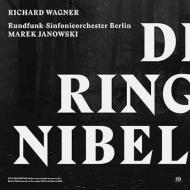 【送料無料】 Wagner ワーグナー / 『ニーベルングの指環』全曲 ヤノフスキ&ベルリン放送交響楽団、コニェチュニ、ラング、サルミネン、他(2012~13 ステレオ)(13SACD) 輸入盤 【SACD】