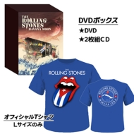 【送料無料】 Rolling Stones ローリングストーンズ / Havana Moon The Rolling Stones Live In Cuba 2016 (+2CD)(+Tシャツ: Lサイズのみ) 【DVD】