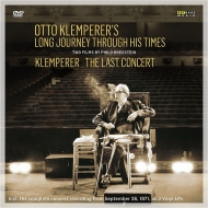 【送料無料】 オットー・クレンペラー~2つのドキュメンタリー(日本語字幕付)(2DVD)(+ラスト・コンサート・ライヴ2LP) 【DVD】