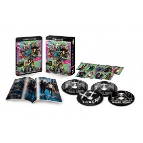 【送料無料】 【初回仕様】スーサイド・スクワッド エクステンデッド・エディション(4枚組 / デジタルコピー付)(4K Ultra HD + Blu-ray) 【BLU-RAY DISC】