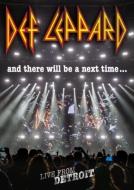 【送料無料】 Def Leppard デフレパード / And There Will Be A Next Time...live From Detroit (+2CD) 【DVD】