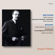 【送料無料】 Beethoven ベートーヴェン / ベートーヴェン: ヴァイオリン協奏曲、モーツァルト: ヴァイオリン協奏曲第4番 ジャック・ティボー、テザルツェンス & ローザンヌ室内管、ベイヌム & コンセルトヘボウ管(2LP) 【LP】