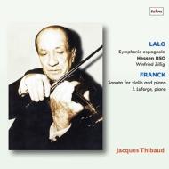 【送料無料】 Lalo ラロ / ラロ: スペイン交響曲、フランク: ヴァイオリン・ソナタ ジャック・ティボー、ツィリッヒ & ヘッセン放送響、ジャン・ラフォルジュ(2LP) 【LP】