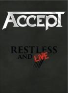 【送料無料】 Accept アクセプト / Restless And Live 【BLU-RAY DISC】