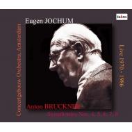 【送料無料】 Bruckner ブルックナー / 交響曲第4, 5, 6, 7, 8番 オイゲン・ヨッフム & コンセルトヘボウ管弦楽団(1970-1986)(6CD) 輸入盤 【CD】