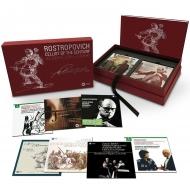【送料無料】 世紀のチェリスト~ムスティスラフ・ロストロポーヴィチ、ワーナー録音全集(40CD+3DVD) 輸入盤 【CD】