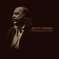 送料無料 再再販 Litto Nebbia 保障 Antologia 1971-2014 CD