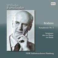 【送料無料】 Brahms ブラームス / 交響曲第1番、ハイドンの主題による変奏曲 ヴィルヘルム・フルトヴェングラー&北ドイツ放送交響楽団(1951)(2LP) 【LP】