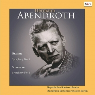 【送料無料】 Brahms ブラームス / ブラームス:交響曲第1番、シューマン:『春』 アーベントロート&バイエルン国立管弦楽団、ベルリン放送交響楽団(1956, 55)(国内プレス / 2枚組アナログレコード) 【LP】