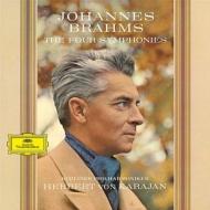 【送料無料】 Brahms ブラームス / ブラームス交響曲全集:カラヤン指揮&ベルリン・フィルハーモニー管弦楽団 (1963-64) (BOX仕様 / 4枚組 / 180グラム重量盤レコード) 【LP】