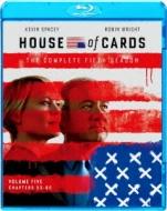 【送料無料】 ハウス・オブ・カード 野望の階段 SEASON 5 Blu-ray Complete Package 【BLU-RAY DISC】