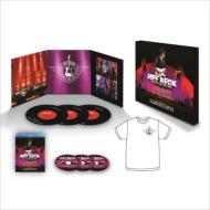 【送料無料】 Jeff Beck ジェフベック / ライヴ・アット・ハリウッド・ボウル 2016 【デラックス・エディション / 完全生産限定盤】 (Blu-ray+2CD+3LP+Tシャツ) 【BLU-RAY DISC】
