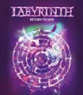 【送料無料】 Labyrinth ラビリンス / Return To Live 【BLU-RAY DISC】
