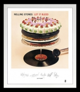 【送料無料】 Rolling Stones ローリングストーンズ / Rolling Stones: Let It Bleed Lithograph (Framed) (アナログレコード) 【LP】