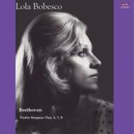 【送料無料】 Beethoven ベートーヴェン / ヴァイオリン・ソナタ第3番、7番、9番 ローラ・ボベスコ (国内プレス / モノラル / 2枚組アナログレコード) 【LP】